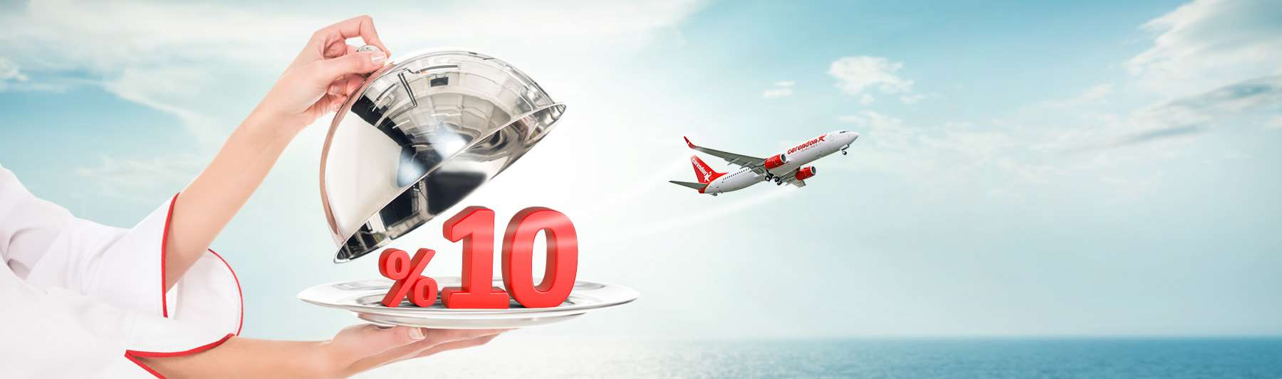10% off all tickets at corendonairlines.com with discount code MC2021