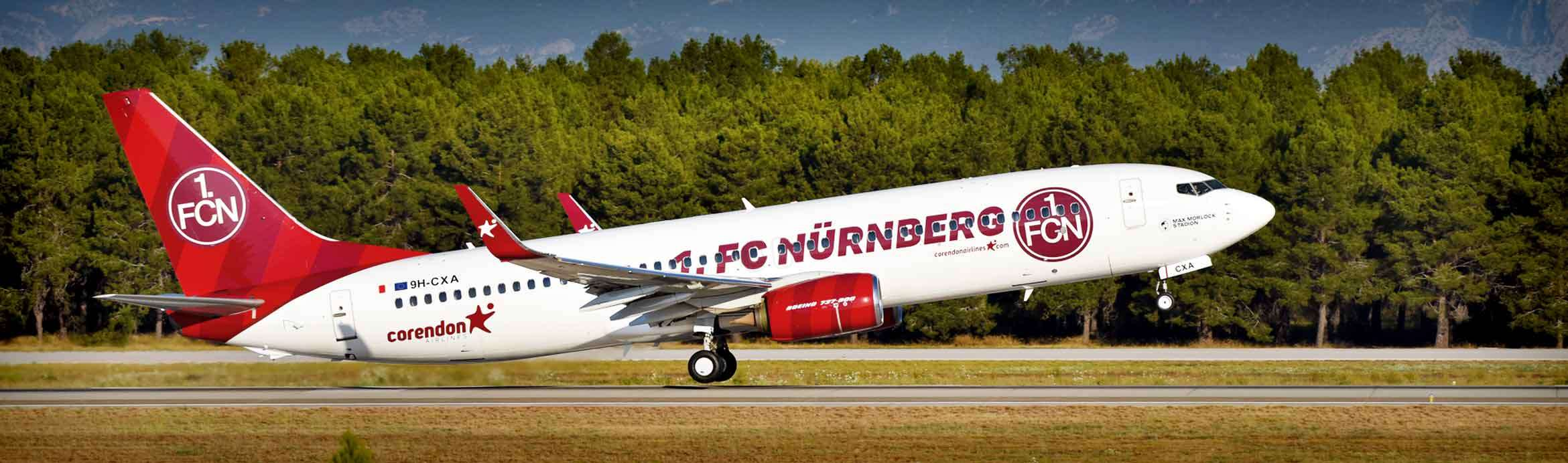 Corendon Airlines Signed Sponsorship Agreement with 1. FC Nürnberg