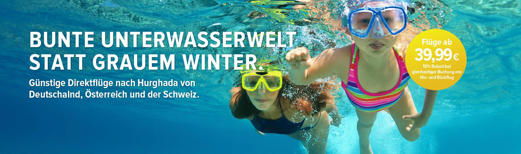 Herrliche Unterwasserwelten, die auch von dir entdeckt werden wollen!